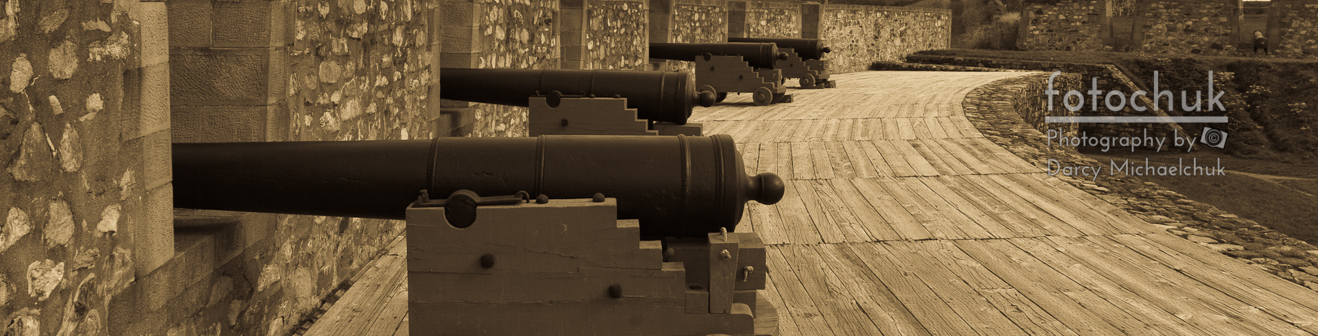 Cannons at Louisberg Fortress