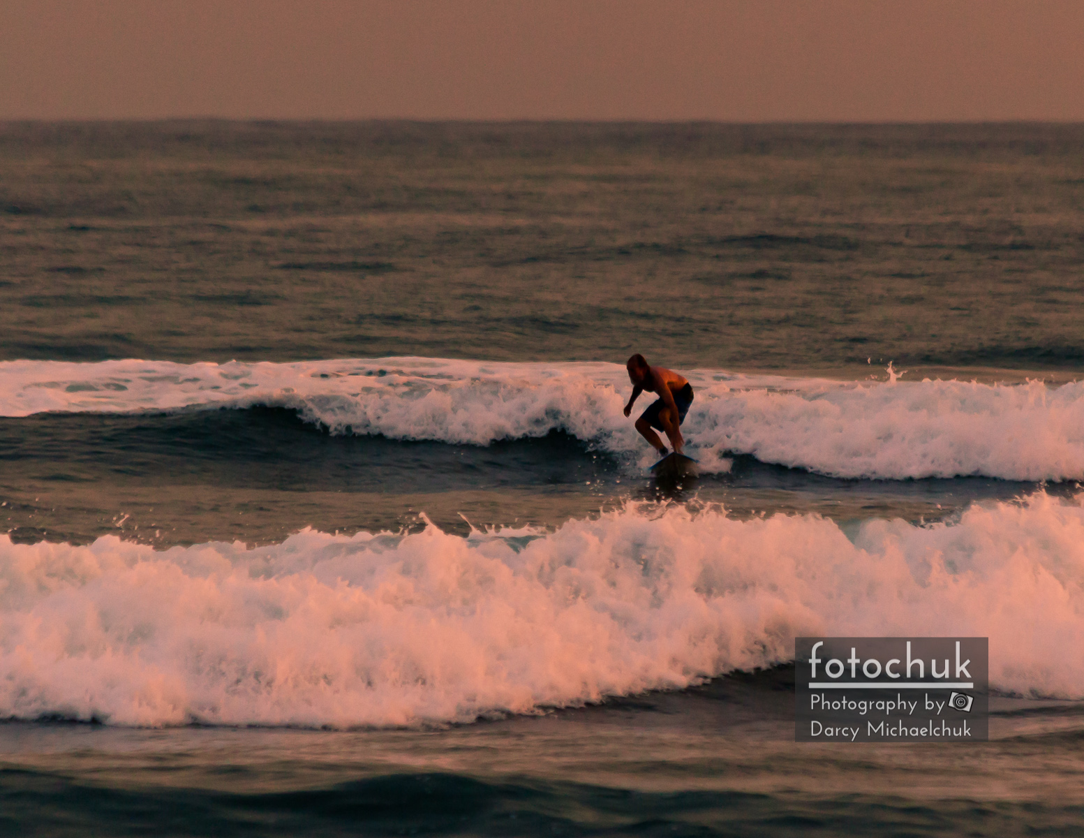 Catchin the Sunset Surf