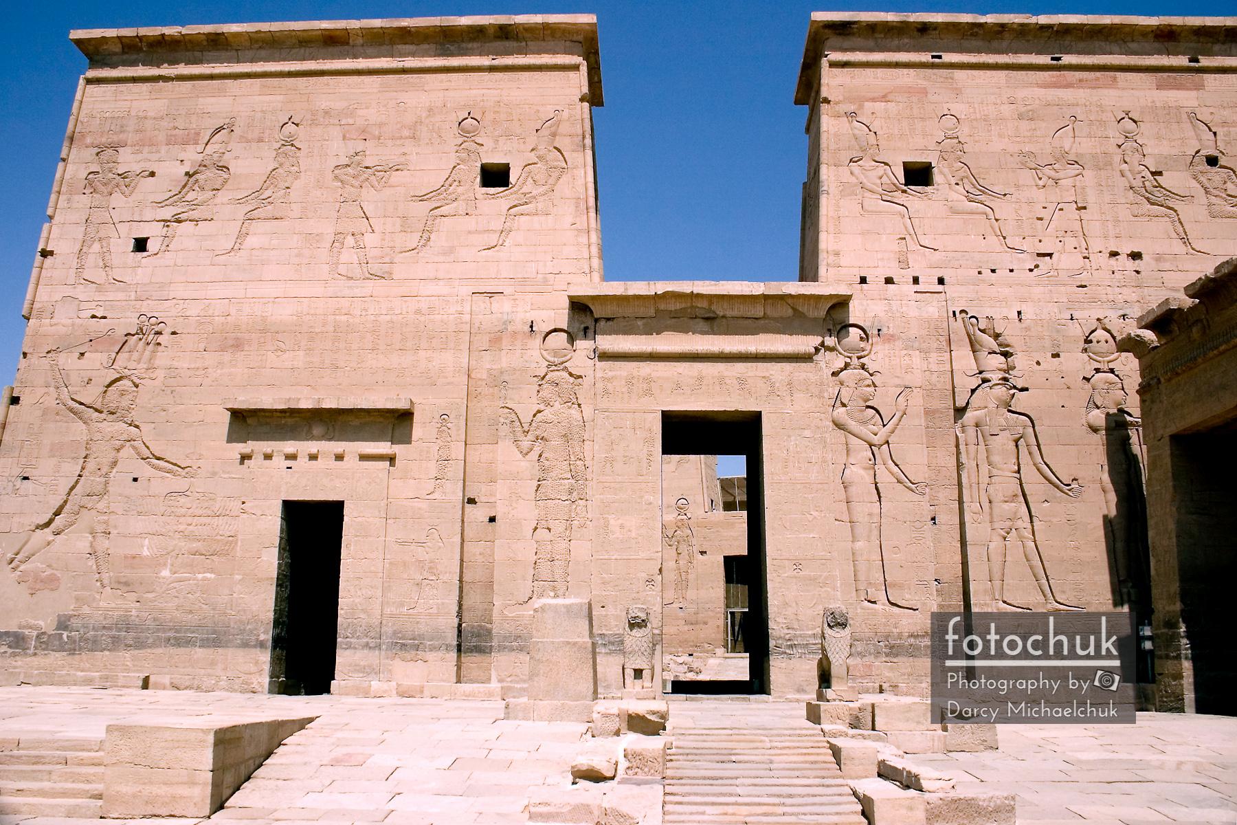 Front of Philae Wall