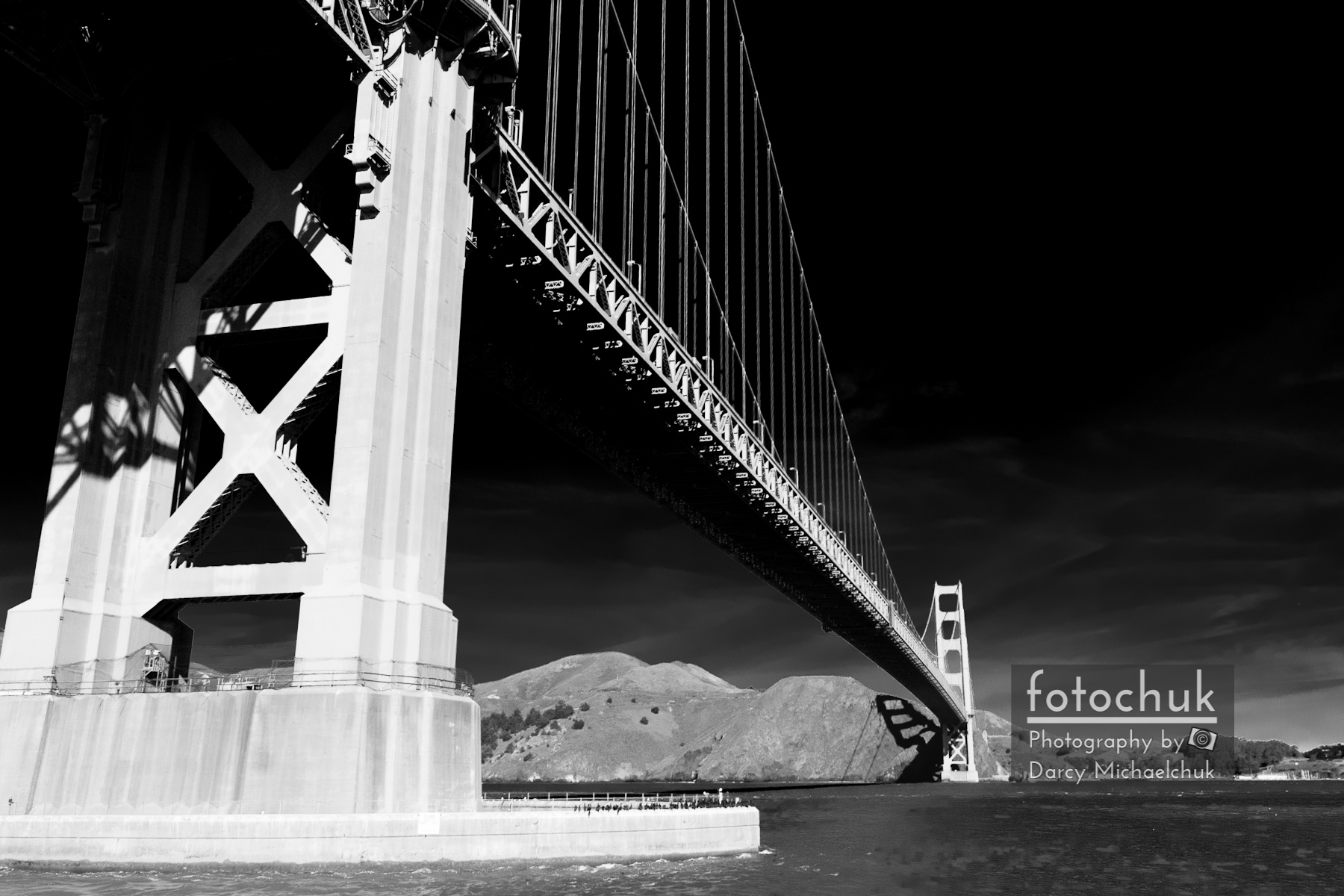 Golden Gate from the Water Ir