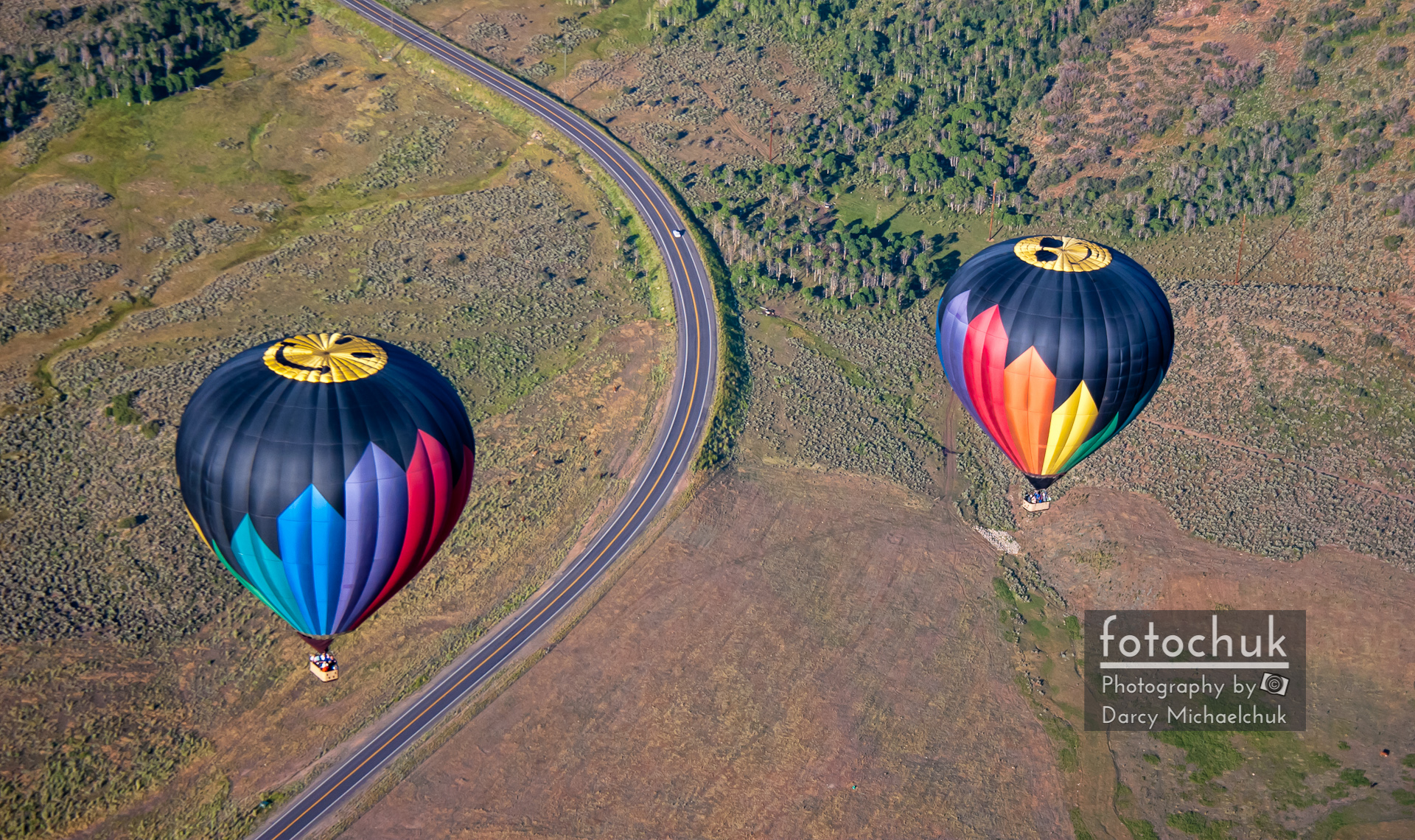 Hot Air Balloons in Utah