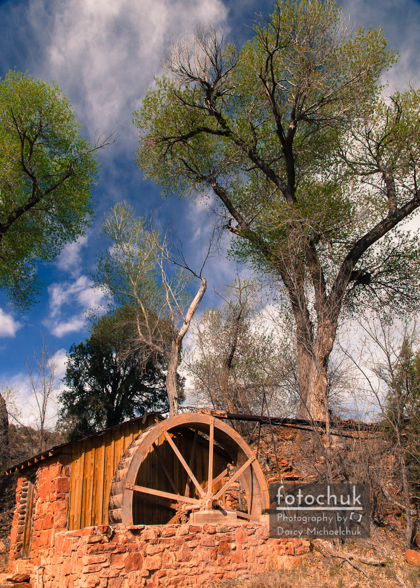 Old West Water Mill 1