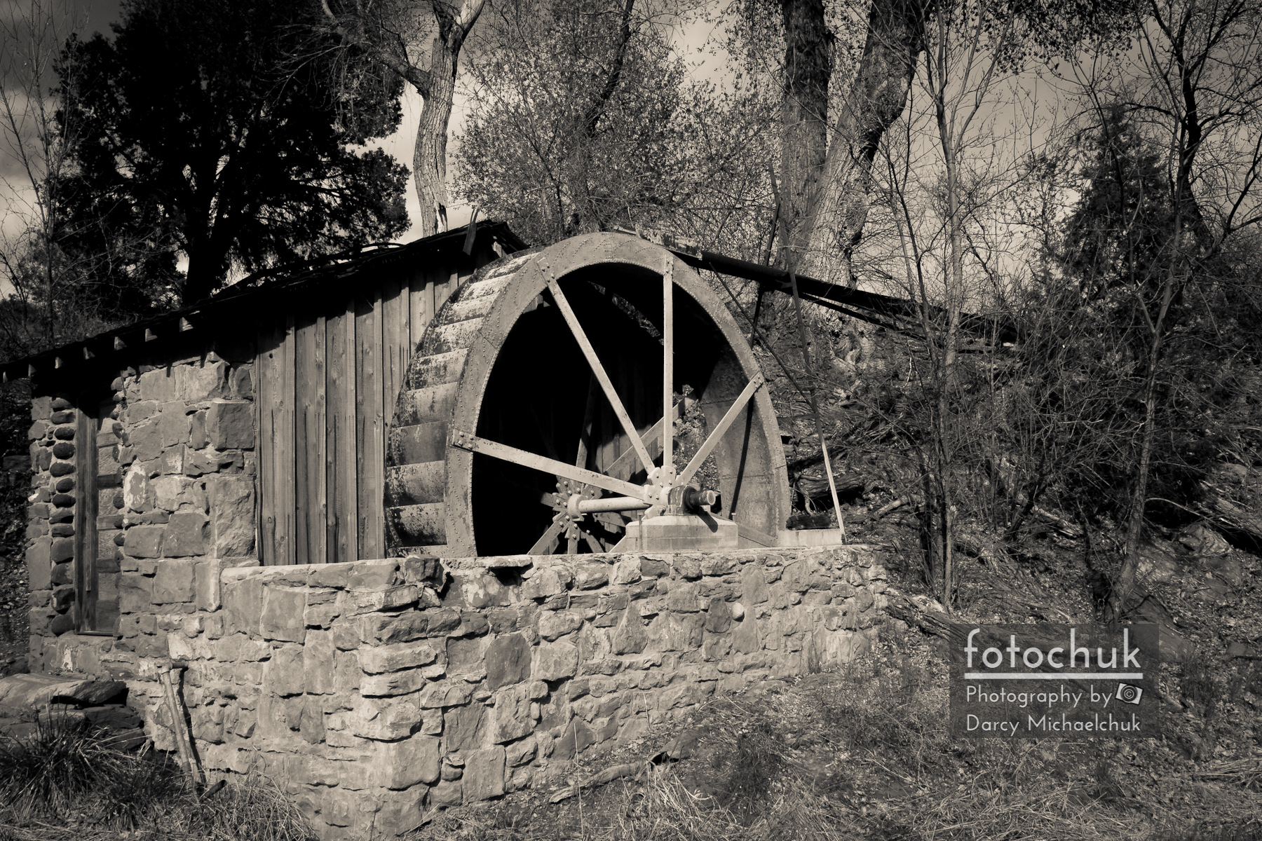 Old West Water Mill 3