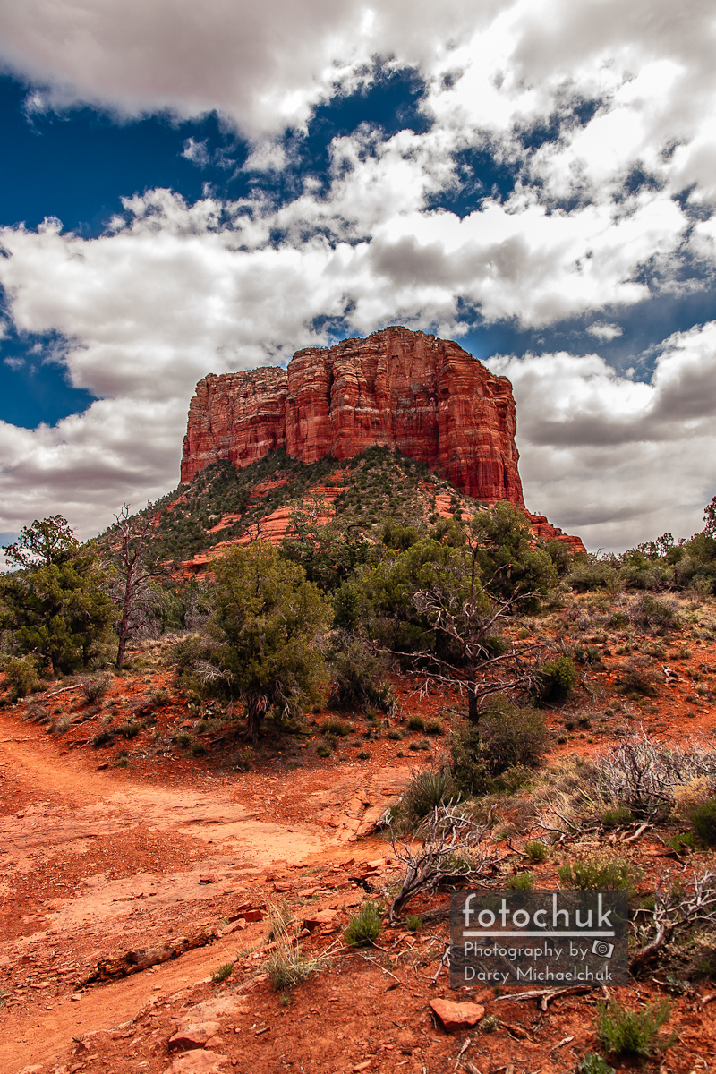 Path to Bell Rock