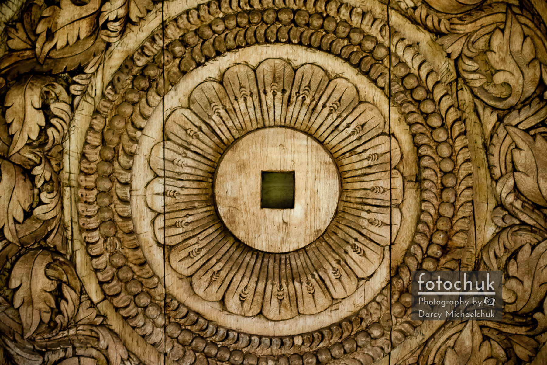 Patterns Carved in Wood
