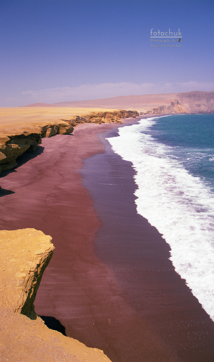 Red Desert Beach