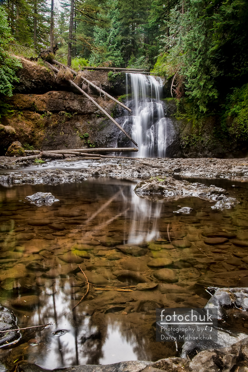 Upper North Silver Falls