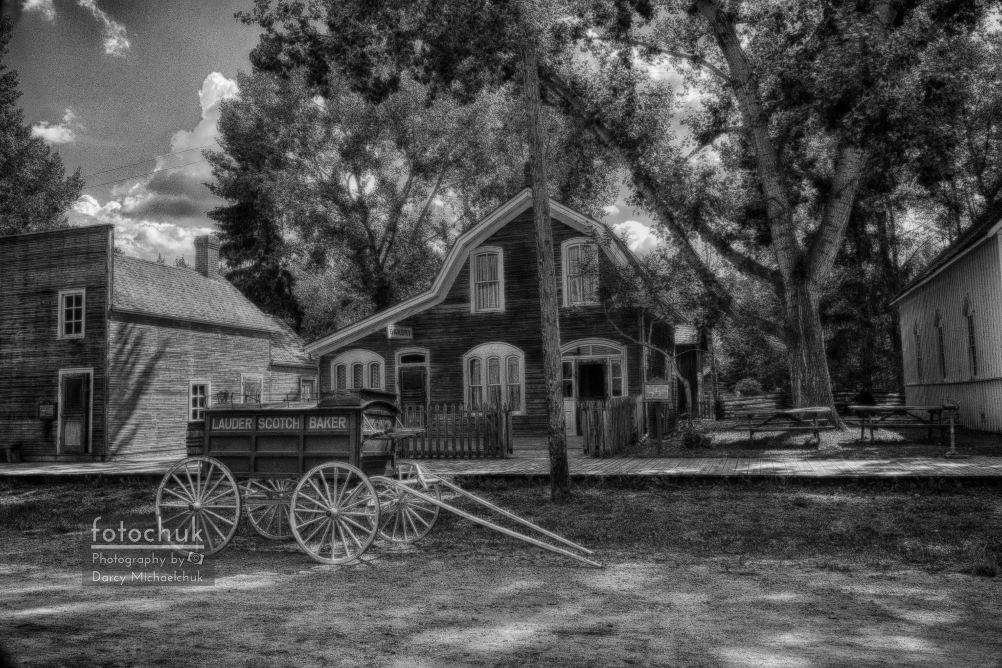 Old Scene – Baker Wagon