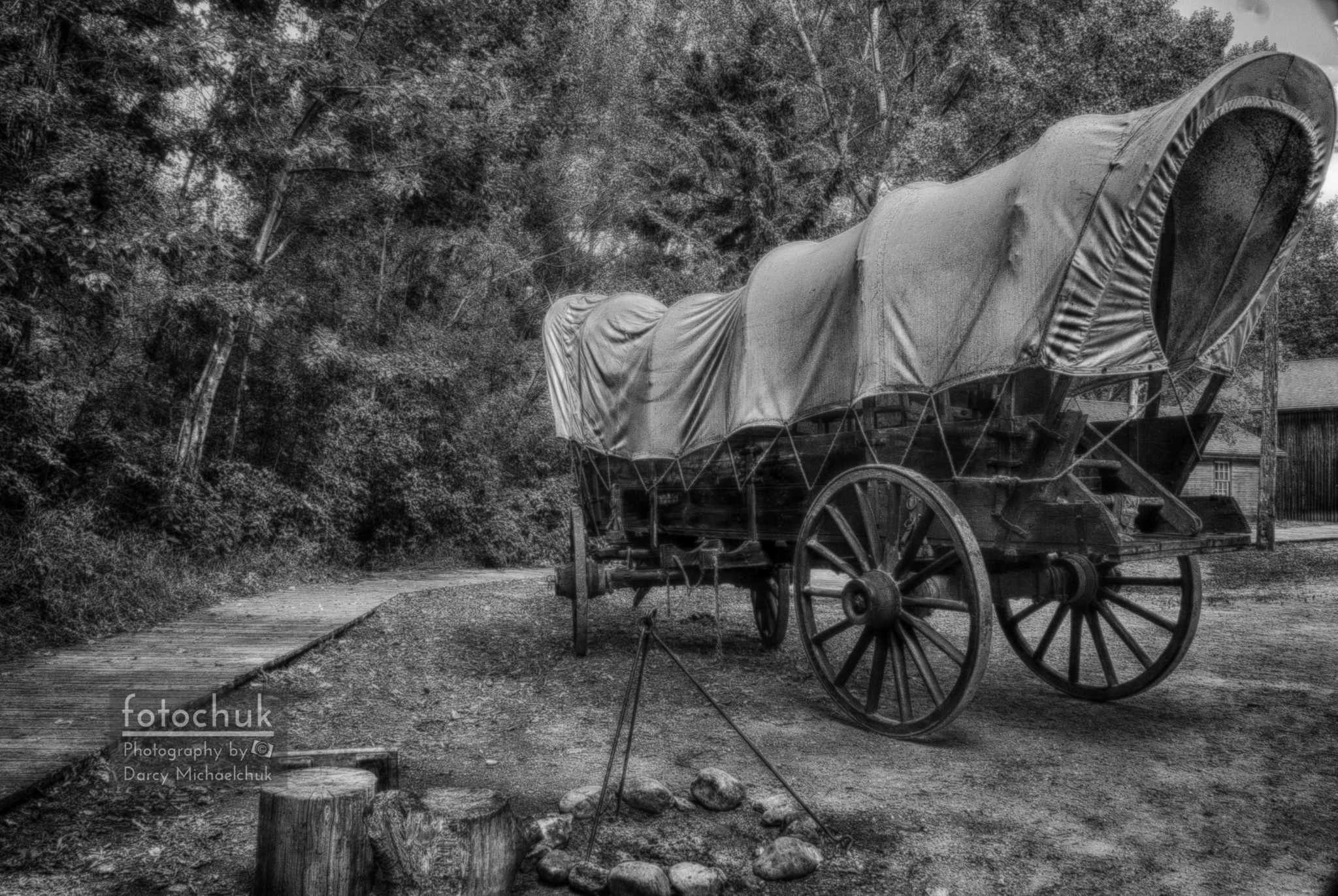 Old Scene – Camp  by Darcy Michaelchuk