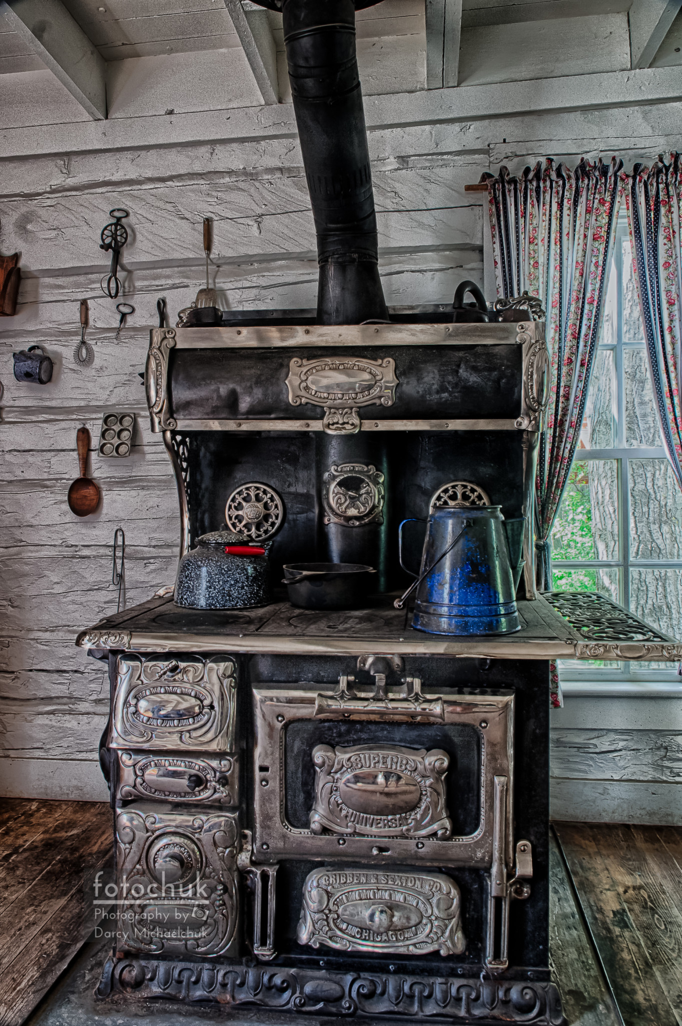 Old Stove  by Darcy Michaelchuk