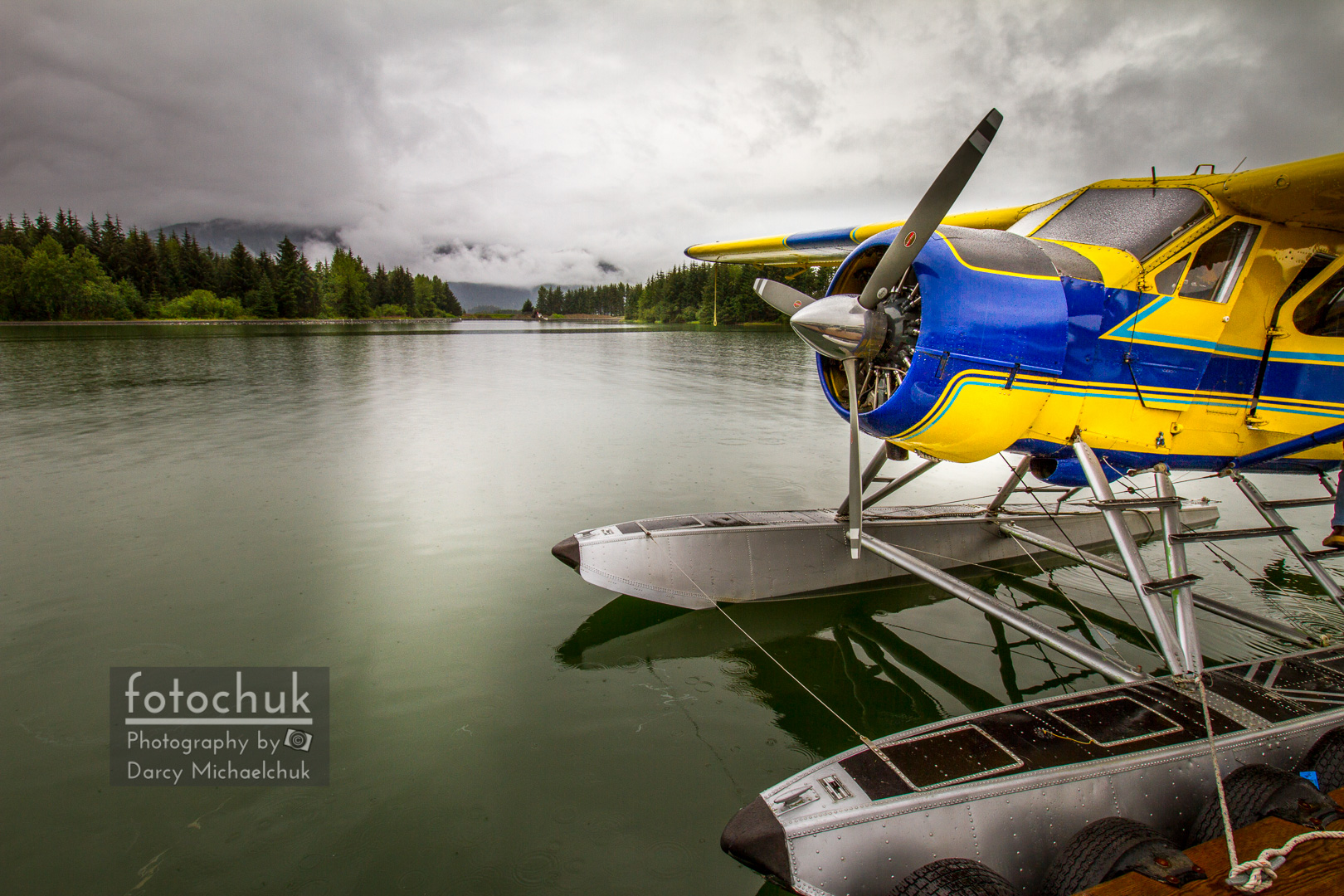 Idle Float Plane at Juneau Airport
