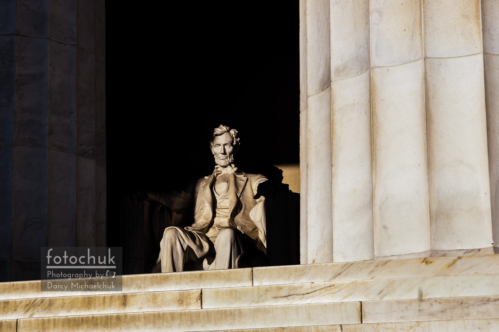 Lincoln Welcomes the Morning  by Darcy Michaelchuk