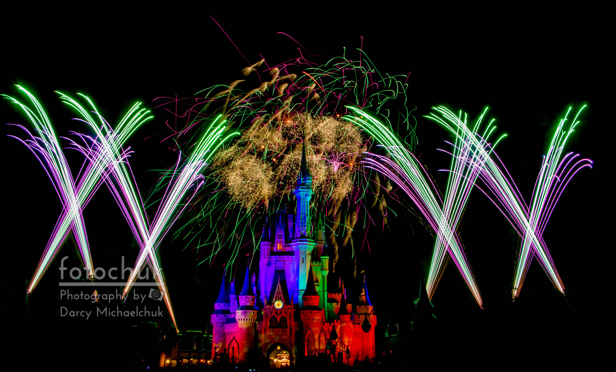 Castle Fireworks Finally