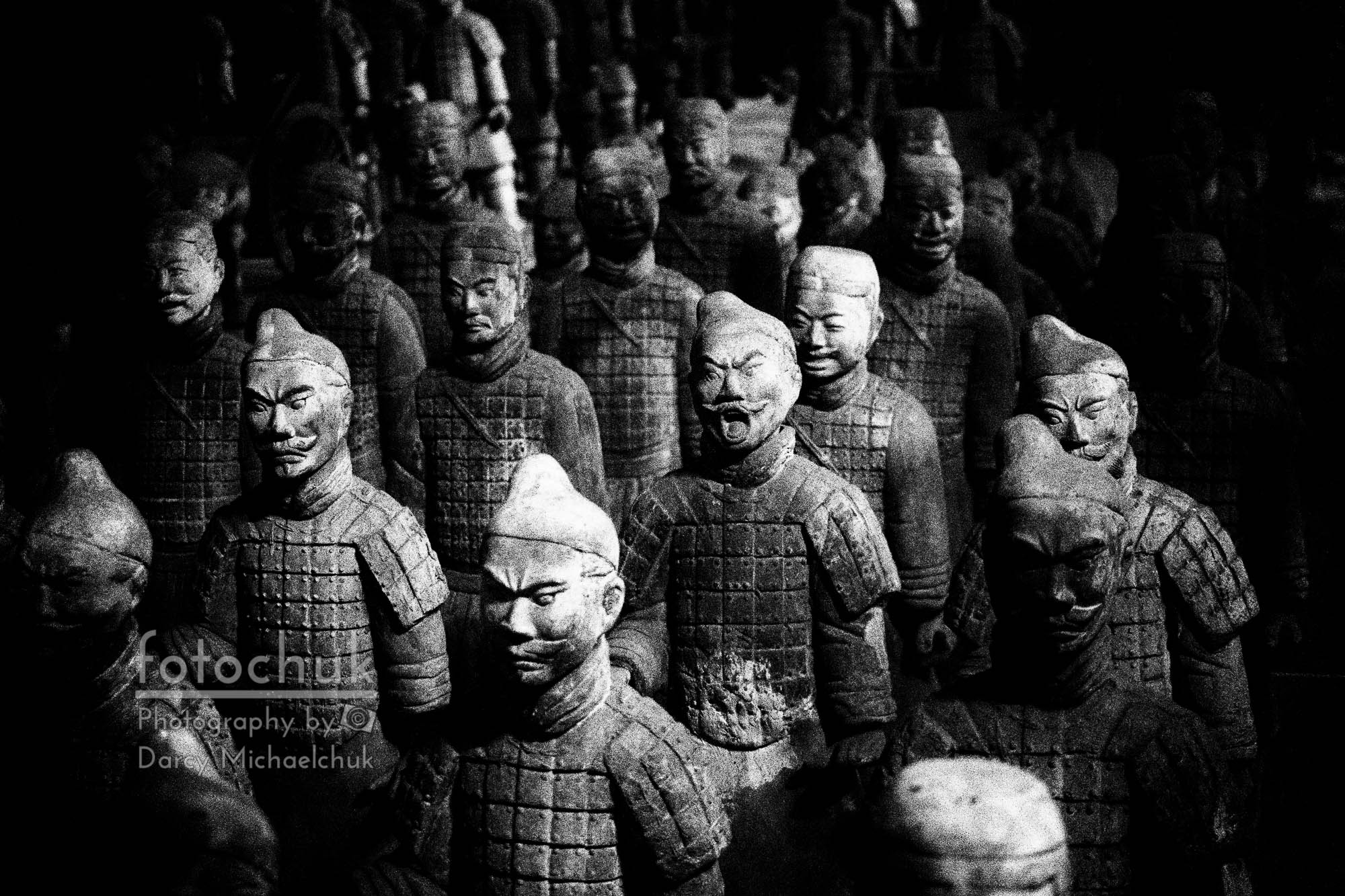 Terra Cotta Army Abstract