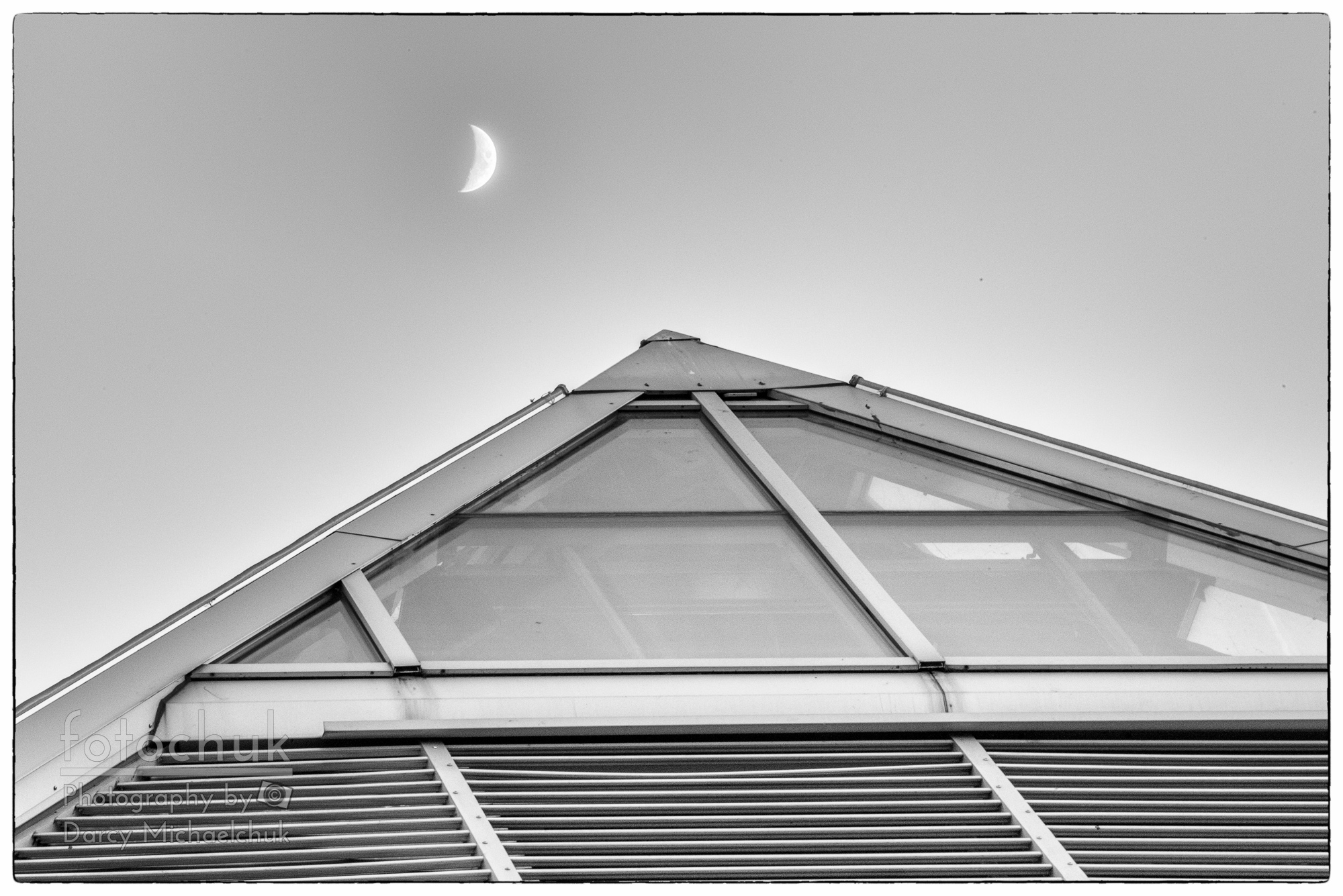 buy Tip of the Mutart with the Moon. canvas print
