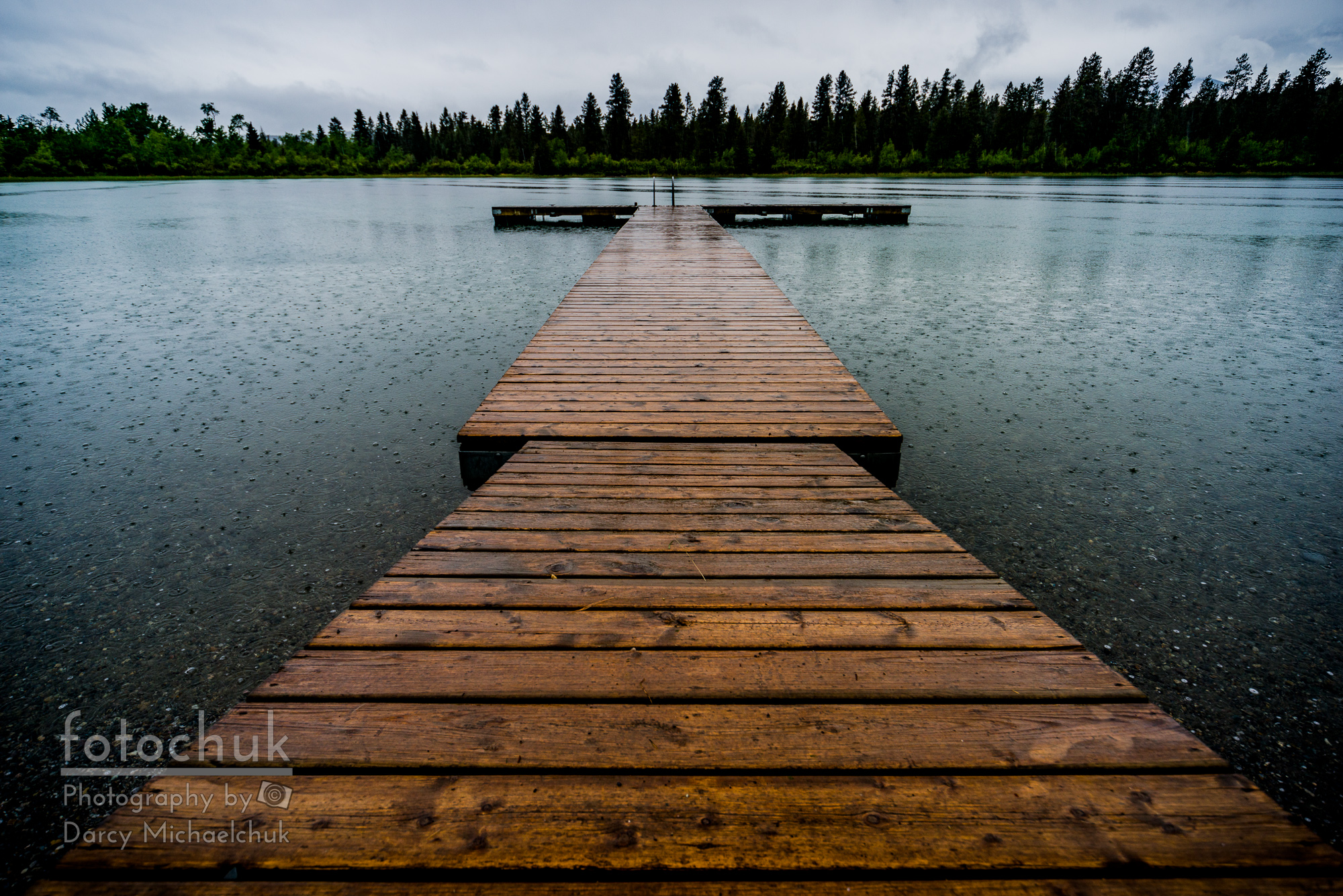 buy Rainy Dock greeting card