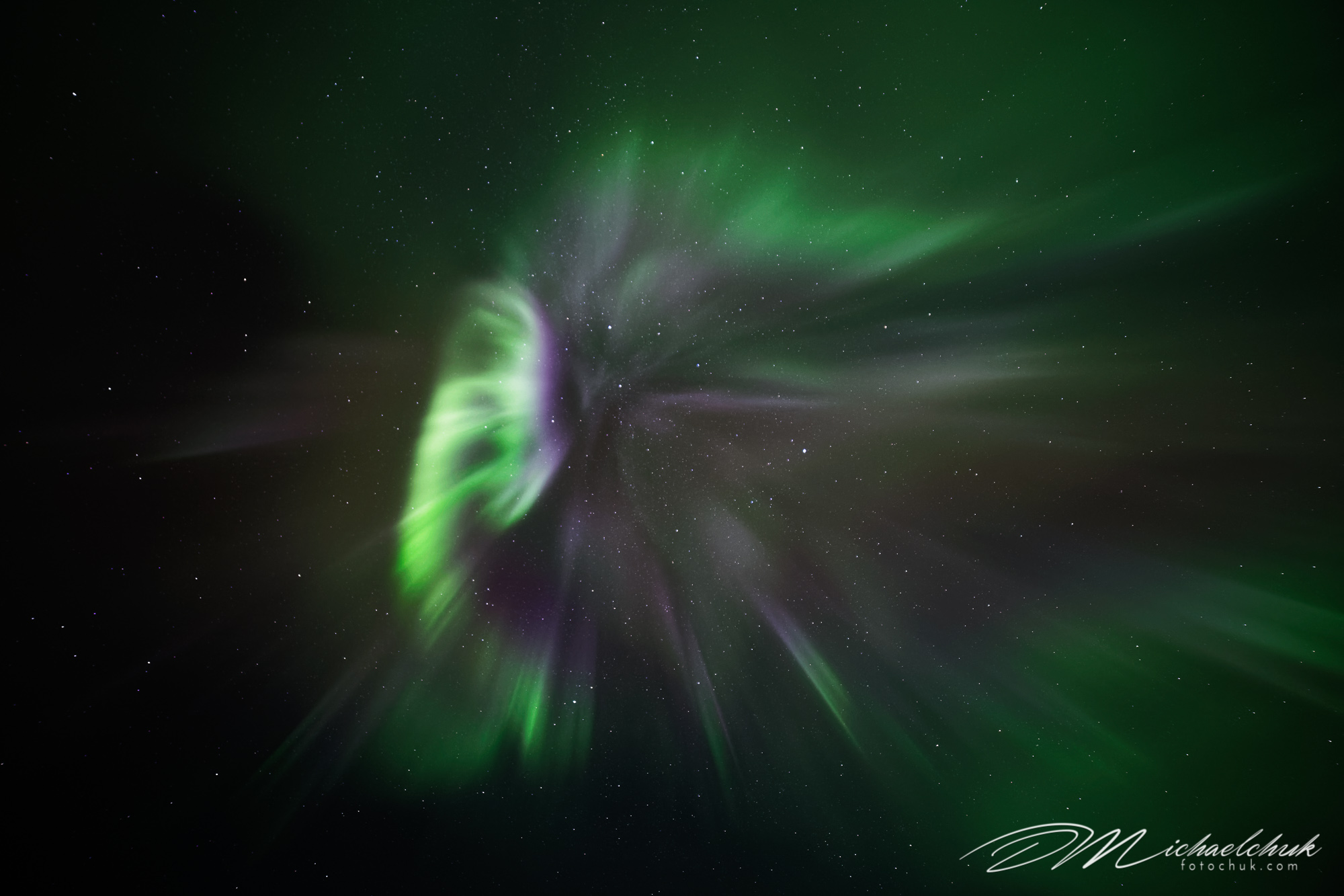 Aurora Warp Speed