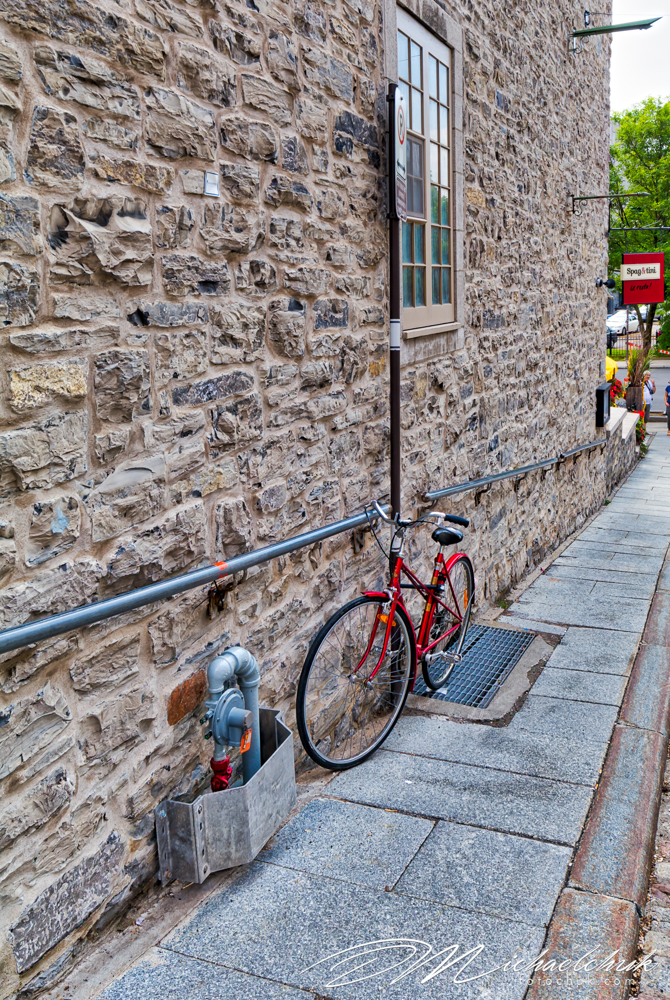 Bike in Quebec City